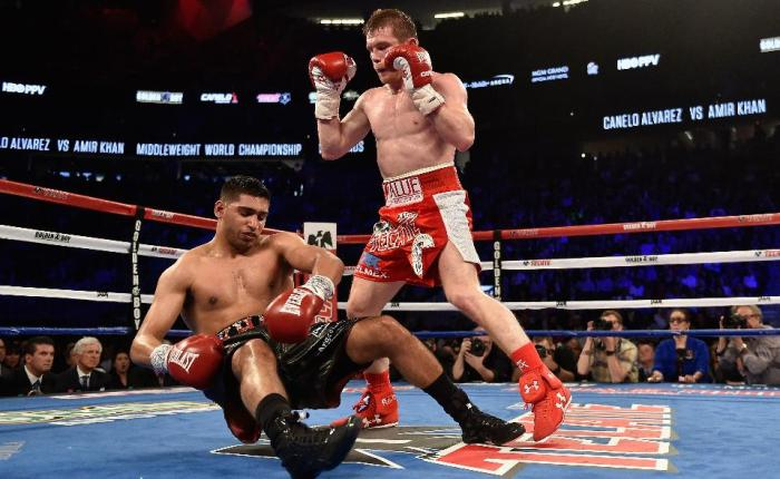 WEEKEND REVIEW: Canelo too much for braveKhan